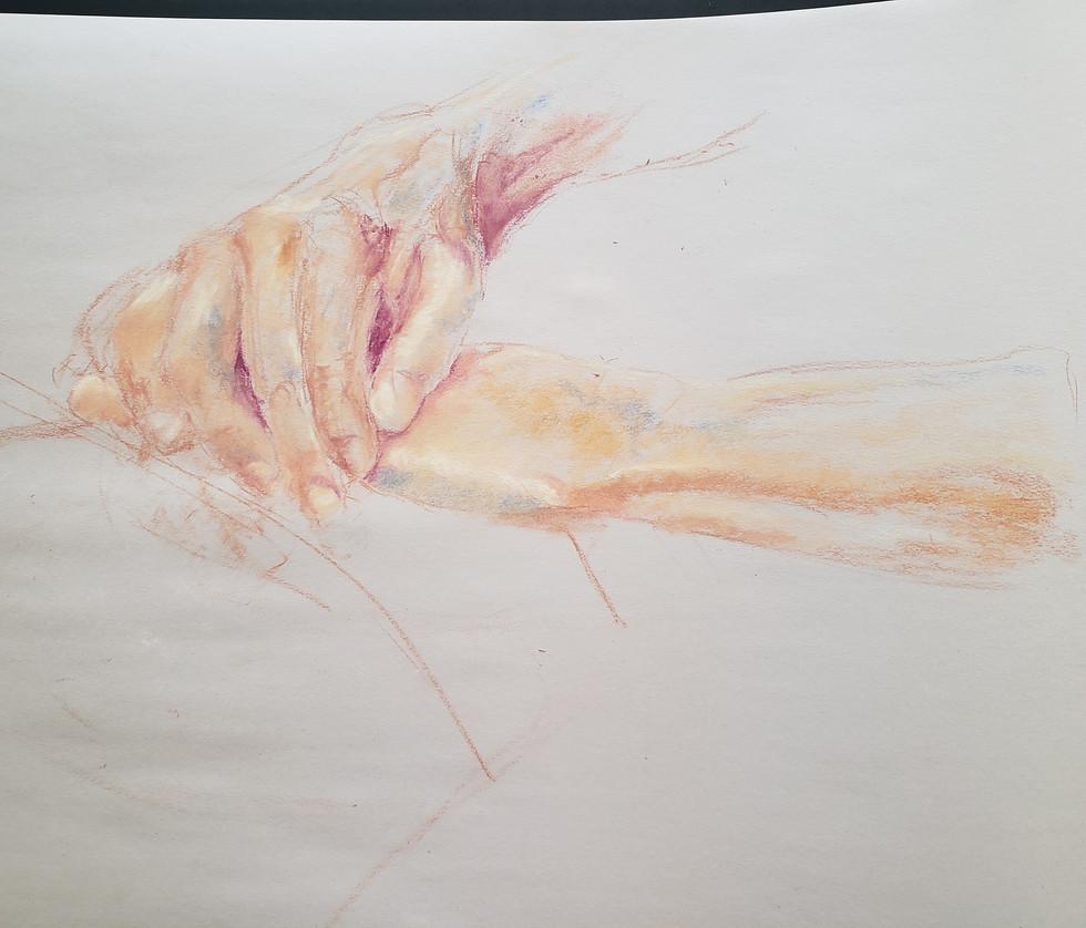 Figure Drawing - Hands