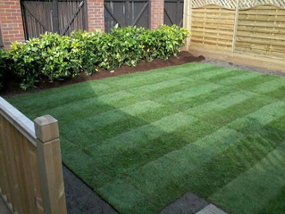 Landscaping and re-turfing Salford