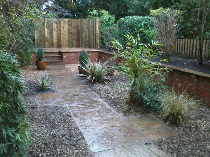 didsbury hard landscaped garden