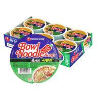 NS Beef Ramen Bowl 86g*6P
