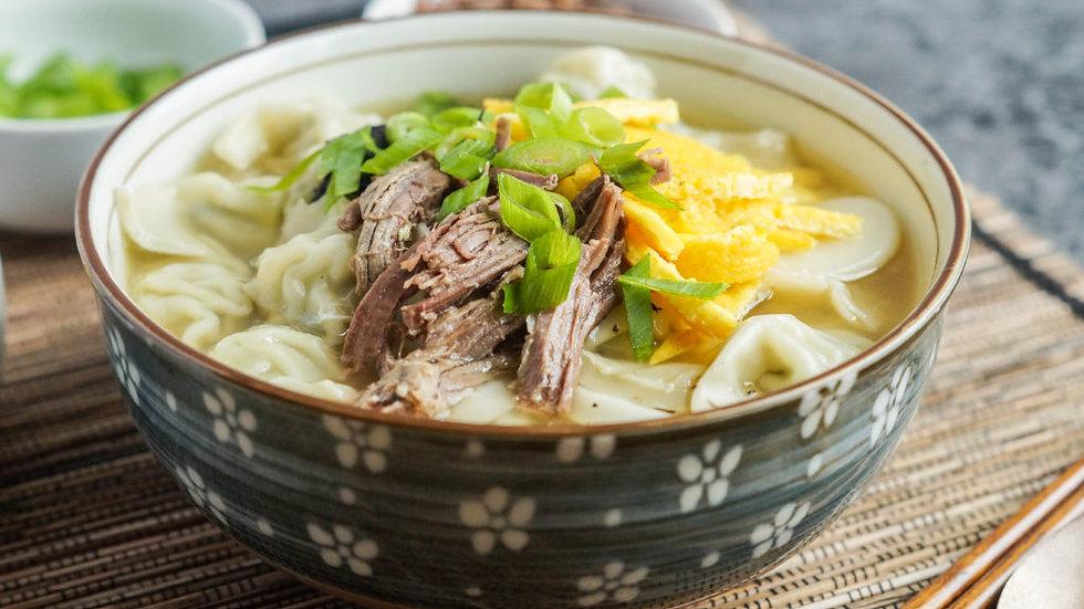 Korean Dumpling Soup (Manduguk)