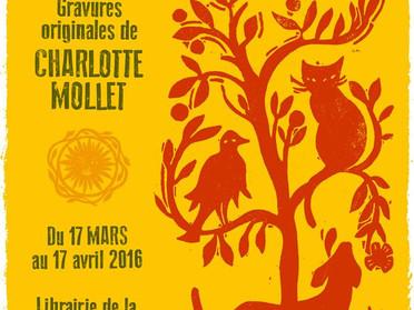 Exposition Linos Créoles Librairie de la Halle Saint-Pierre à Paris