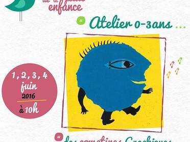 Atelier pour les moins de 3 ans à Draguignan