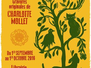Exposition linos créoles Librairie de l'Equipage à Paris