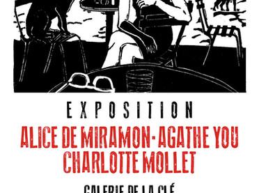 Exposition à la galerie de la Clé