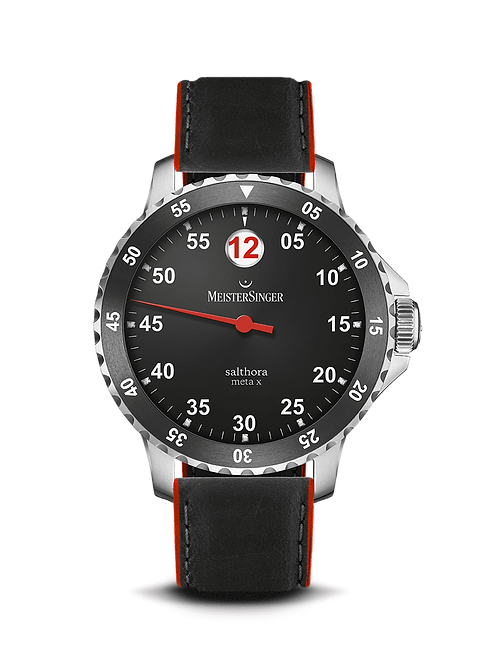 Salthora Meta X Red Hand - 43 mm