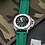Thumbnail: 24mm Green Olive Rubber Strap