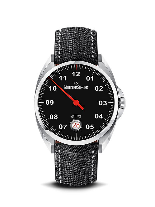 Metris Black Steel - 38 mm