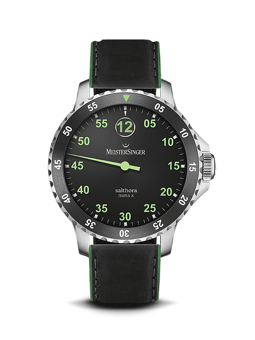 Salthora Meta X Green - 43 mm