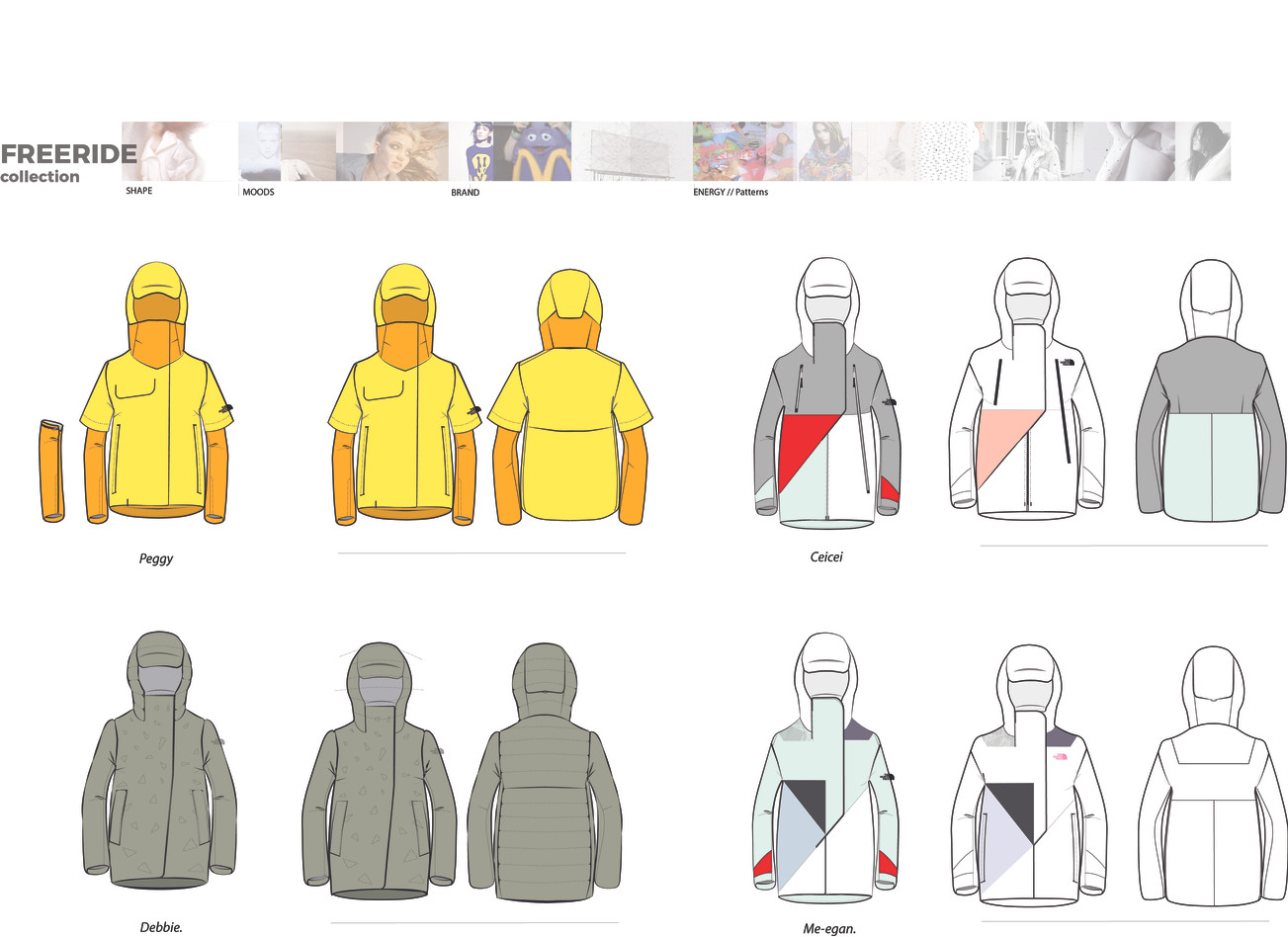 TNF FREE RIDE COLLECTION