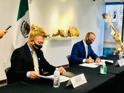 Meeting with the Mexican Counselate