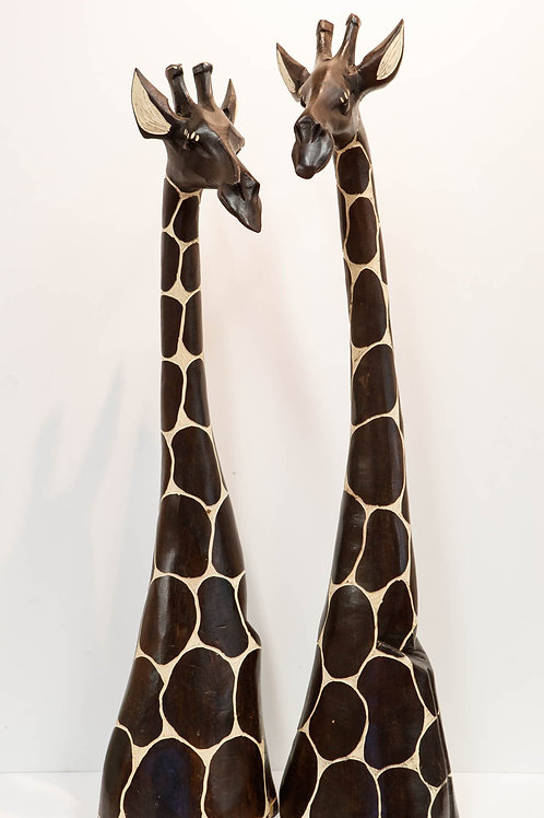 Hand Crafted Giraffe Statues
