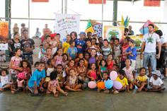 Atividade infantil no distrito de Antônio Pereira