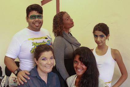 Oficina Máscara, Maquiagem e Pinturas Carnavalescas