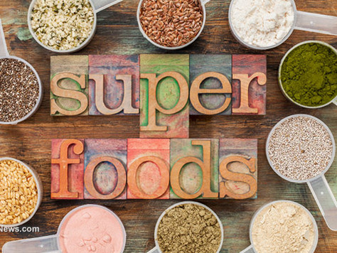SUPERFOODS FOR ENERGY AND MENTAL CLARITY