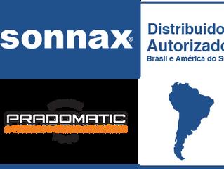 A Pradomatic é Distribuidor Autorizado Sonnax para o Brasil e América do Sul