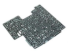 Placa separadora de corpo de válvulas ZF6hp26 ZF6hp28 ZF6hp32