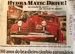 A Historia do Cambio Automatico - 80 ANOS