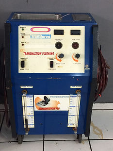 Troca de óleo de cÂmbio automático pelo sistema mecânico flushing