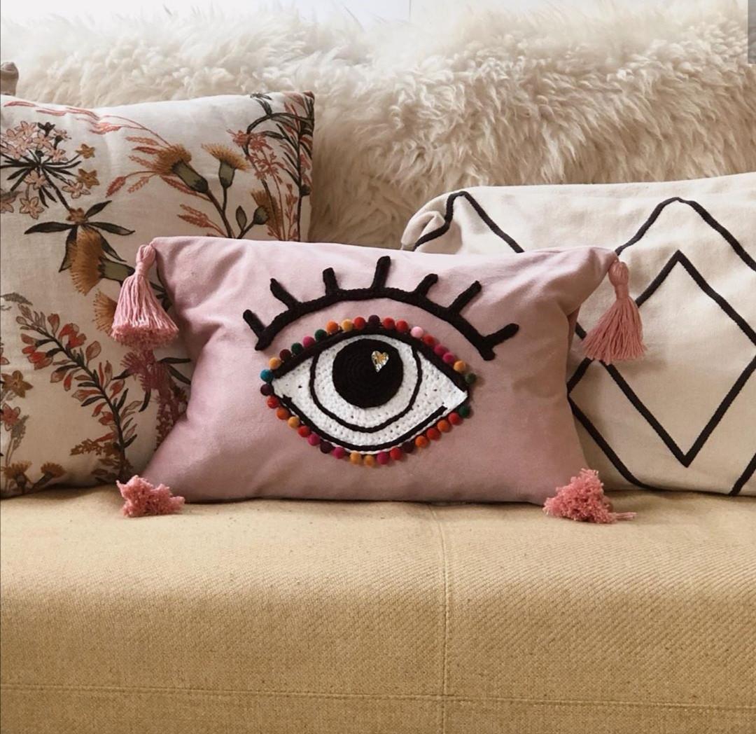 Emily's Upcycled Eye Cushion