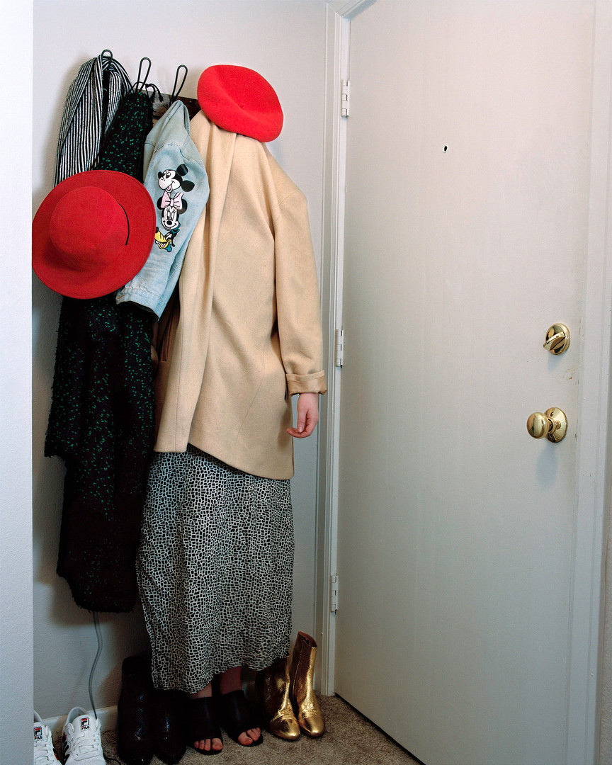 in plain sight [coat rack]