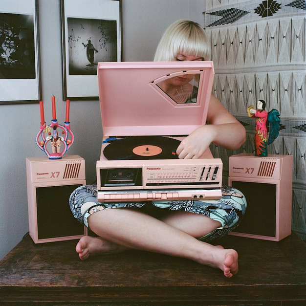 in plain sight [record player]