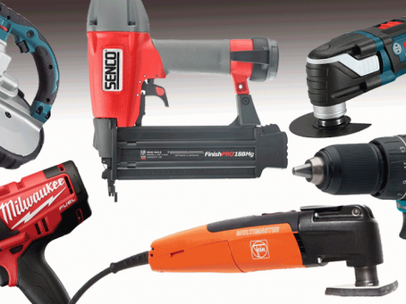 The Top 5 Power Tools Every DIY Handyperson Should Have