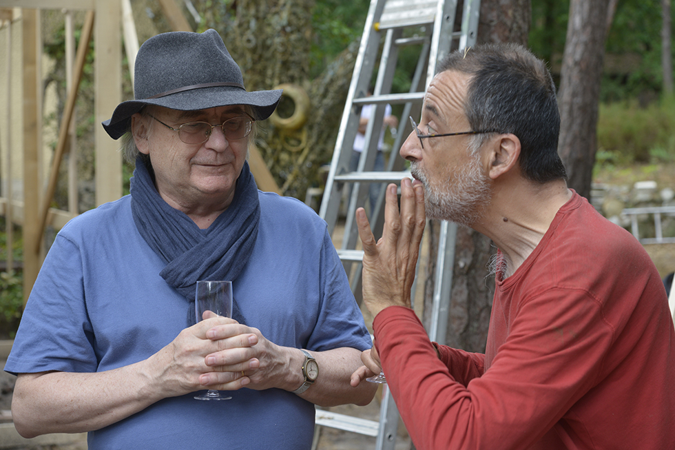 Laurent Danchin et Fabrice Azzolin