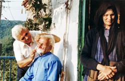 Le barbier et la sainte