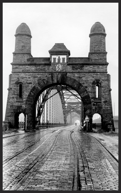 Le pont d'Hambourg