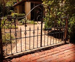 Vintage Ornate Gate