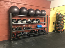 Gym Equipment Rack