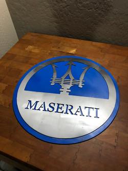 Brushed Logo