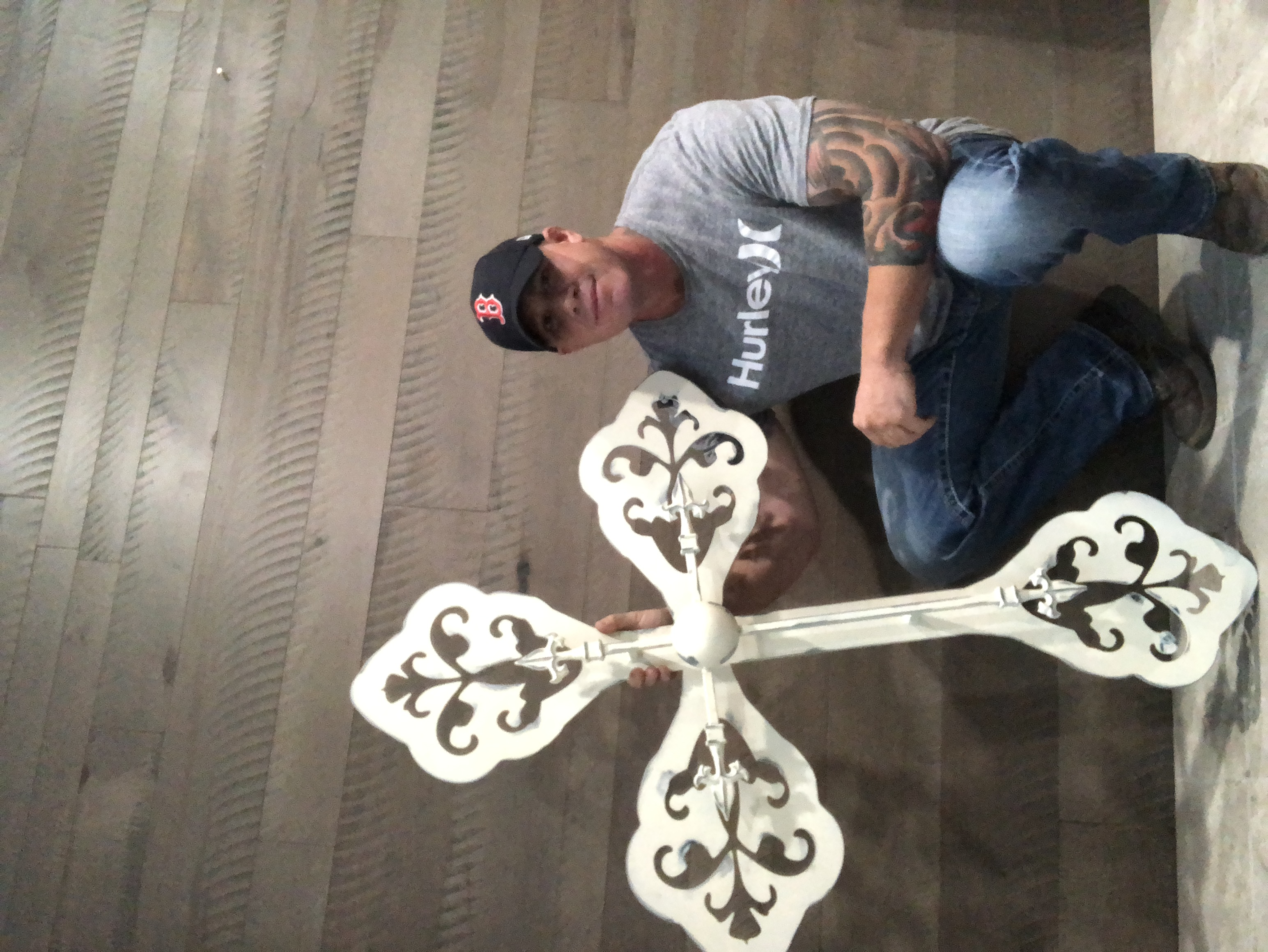 "48"" Distressed Cross"