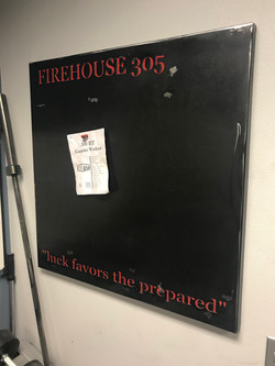 Magnet Board with Custom Wording