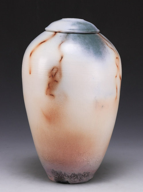 Saggar-fired jar
