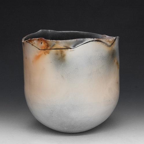 Saggar-fired Stoneware Vessel