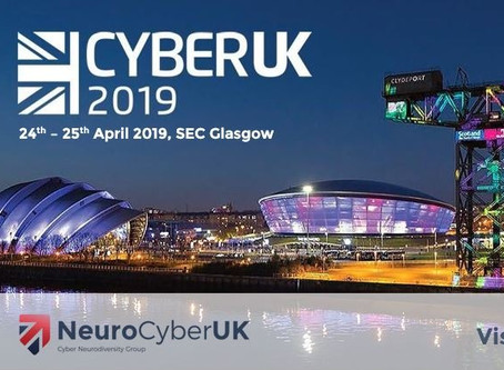NeuroCyberUK @ CyberUK 2019 in Glasgow