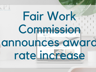 Fair Work Commission has announced a 1.75% increase to minimum wages