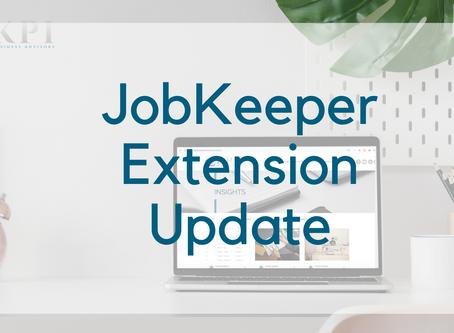 Job Keeper Extension Update