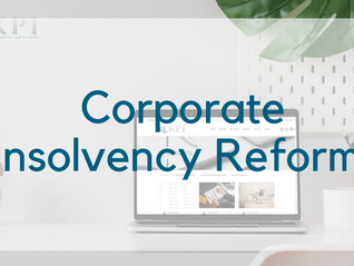 Corporate Insolvency Reforms 2020