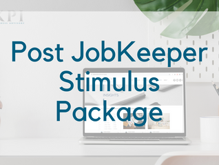Morrison government unveils post-JobKeeper stimulus package