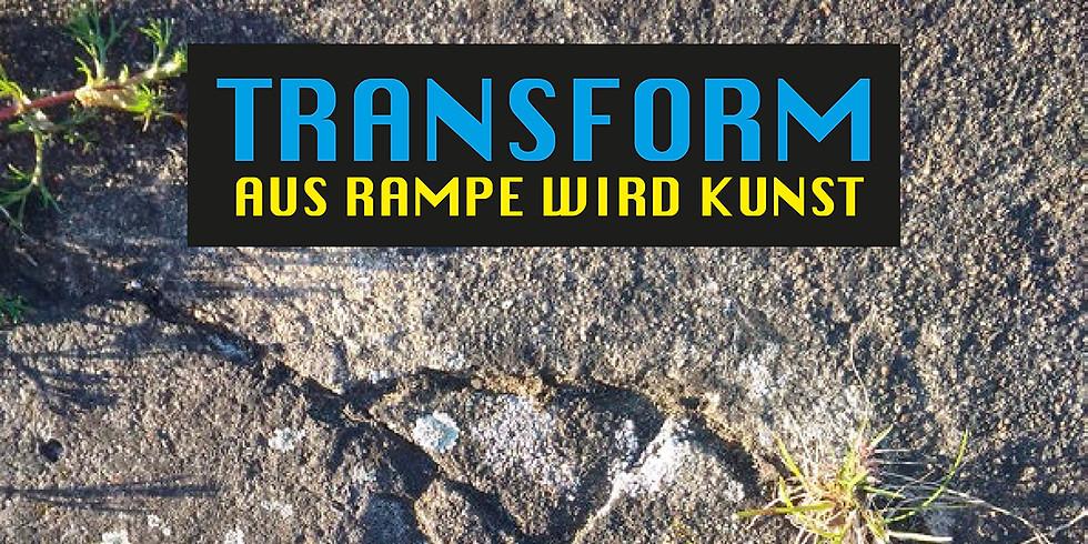 Transform: Abrissfest und Kunstaktion