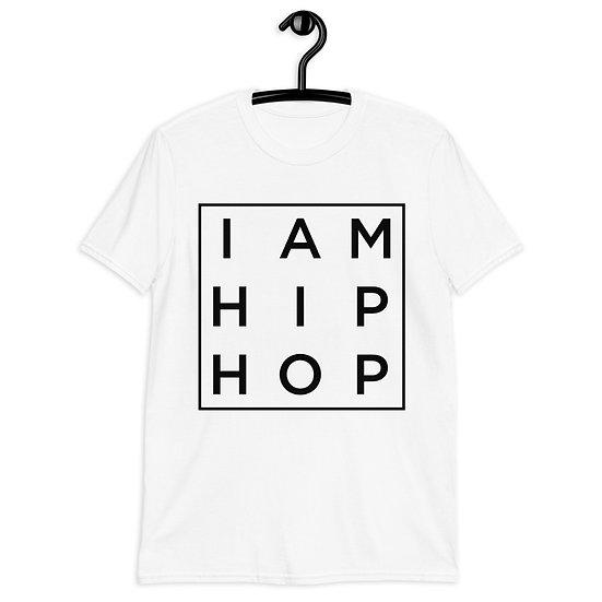 IAHH - SQUARE - BLACK - Short-Sleeve Unisex T-Shirt