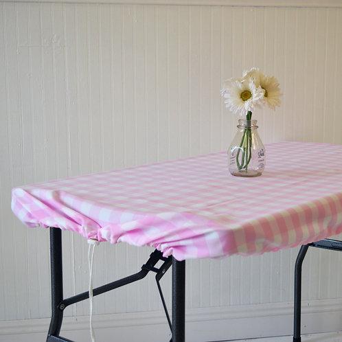 Light Pink Chunky Checks