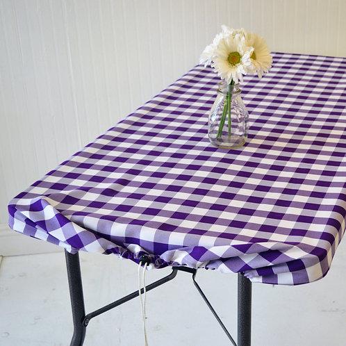 Purple Chunky Checks