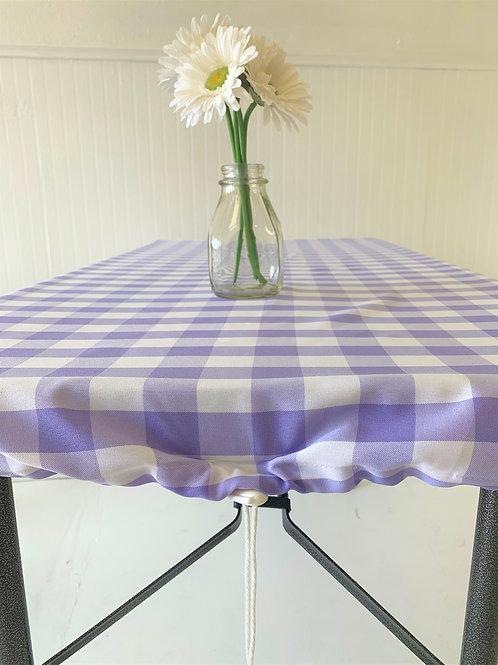 Lavender Chunky Checks