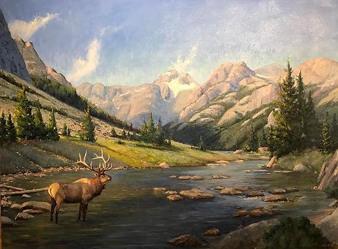JC_Dye_Dinwoody_Wapati_oil_on_canvas_30x