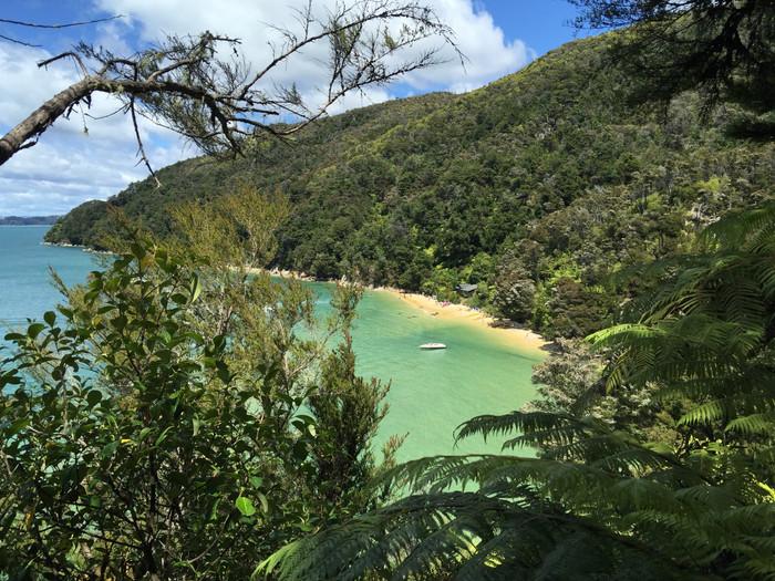 Abel Tasman Coast Track (ou a trilha das marés)