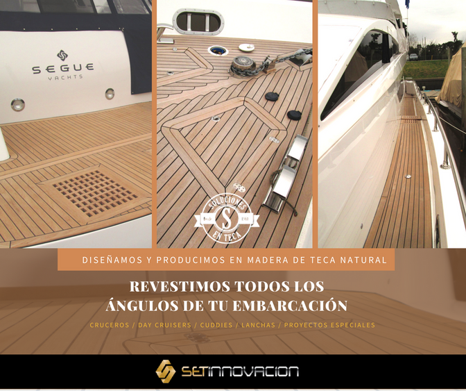 Soluciones en Teca es la opción ideal para aquellos amantes de los yachts que deseen revestirlo de m